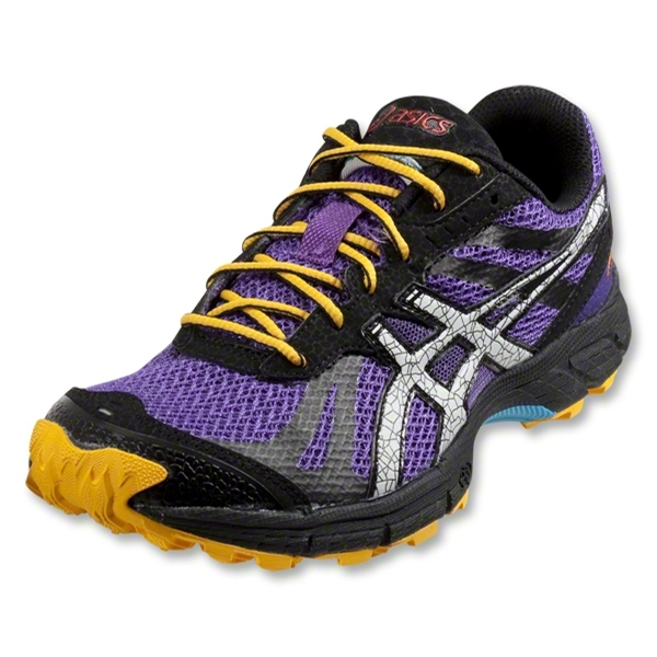 Asics Gel Fuji Racer Women's Training Shoes (Purple/Lightning/Orange)