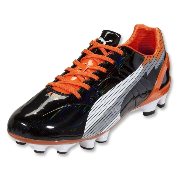 PUMA evoSpeed 3 FG (Black/White/Team Orange)