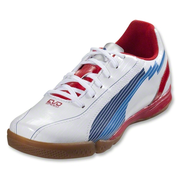 PUMA evoSpeed 5 IT Junior (White/Limoges/Ribbon Red)