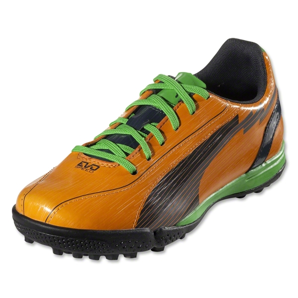 PUMA evoSpeed 5 TT Junior (Flame Orange/Team Charcoal)