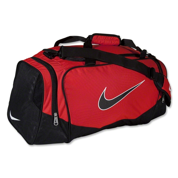 Nike Brasilia 5 Medium Duffle (Red/Blk)