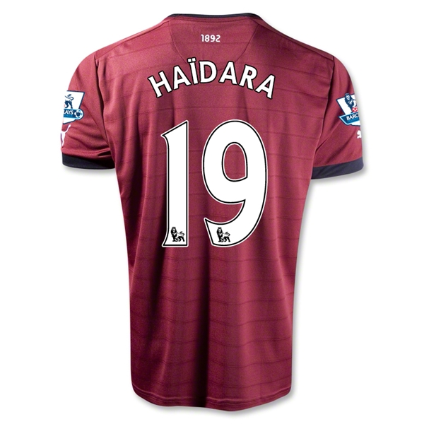Newcastle United 12/13 HAIDARA Away Soccer Jersey