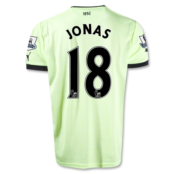 Newcastle United 12/13 JONAS Third Soccer Jersey