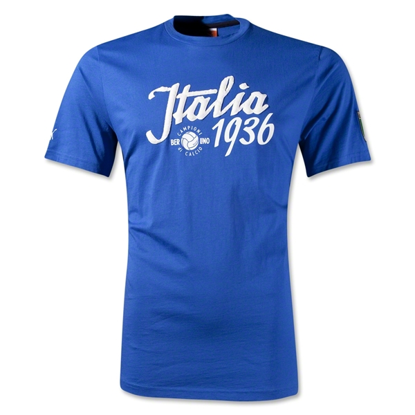 Football Archives Italy Graphic T-Shirt