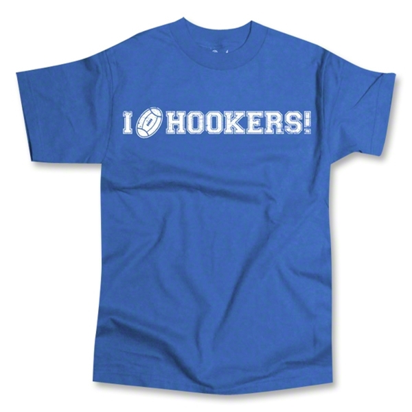 I Love Hookers SS T-Shirt (Royal)