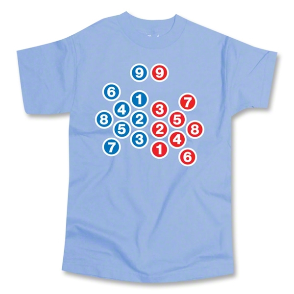 Scrum Diagram SS T-Shirt (Sky)