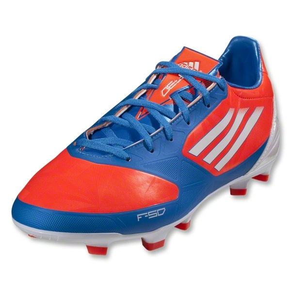 adidas F30 TRX FG miCoach Compatible (Infrared/Bright Blue/Running White)