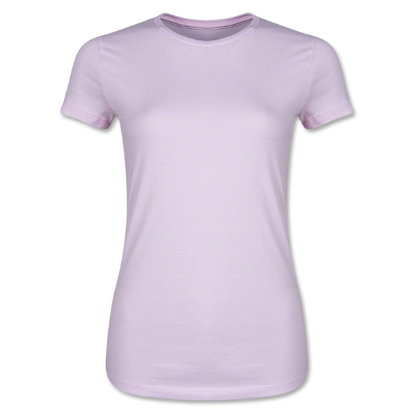 Ladies 4.3 Oz Cotton T-Shirt (Pink)