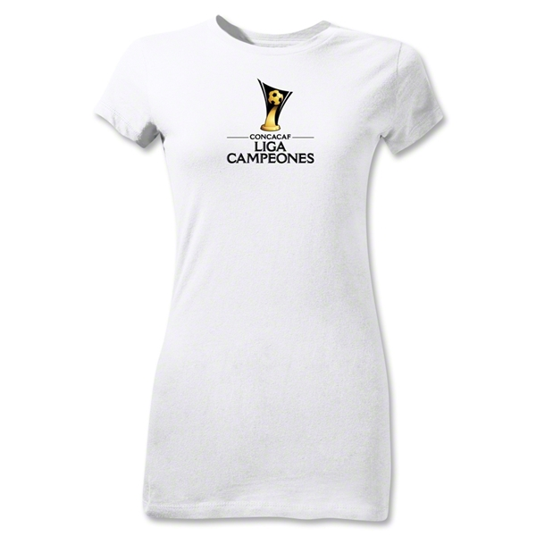 CONCACAF Champions League Junior Women's T-Shirt (White)