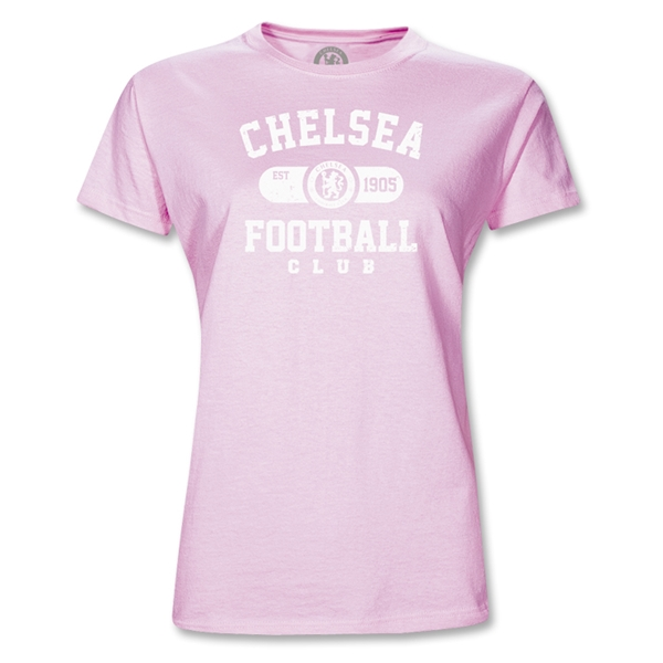 Chelsea Football Junior Women's T-Shirt (Pink)