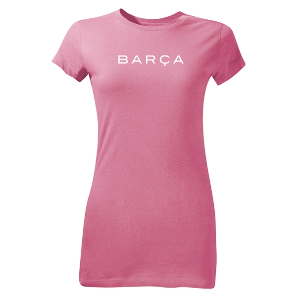 FC Barcelona Barca Junior Women's T-Shirt (Pink)