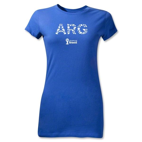 Argentina 2014 FIFA World Cup Brazil(TM) Jr Women's Elements T-Shirt (Royal)