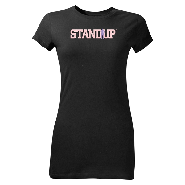 StandUp Junior Women's T-Shirt (Black)