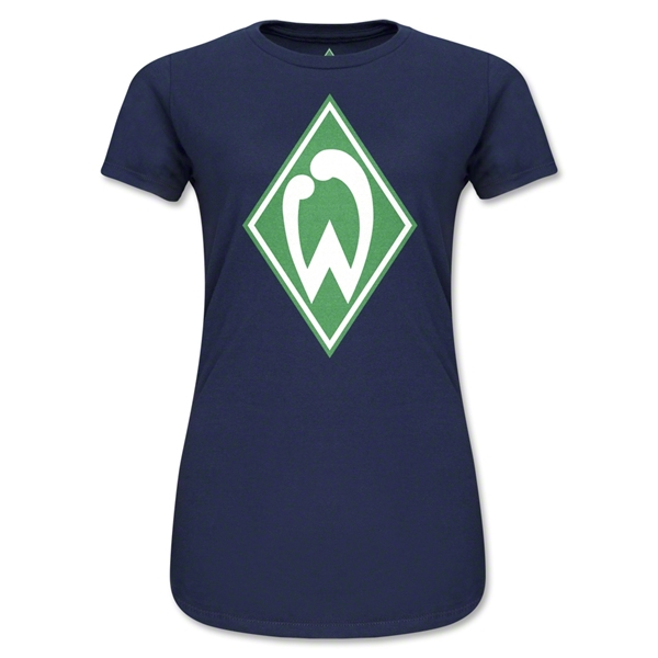 Werder Bremen Junior Women's T-Shirt (Navy)