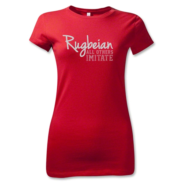 All Others Imitate Junior Women's T-Shirt (Red)