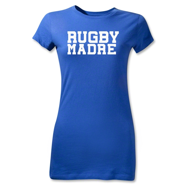 Rugby Madre Junior Women's T-Shirt (Royal)