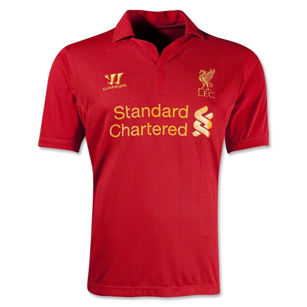 Liverpool 12/13 Home Soccer Jersey