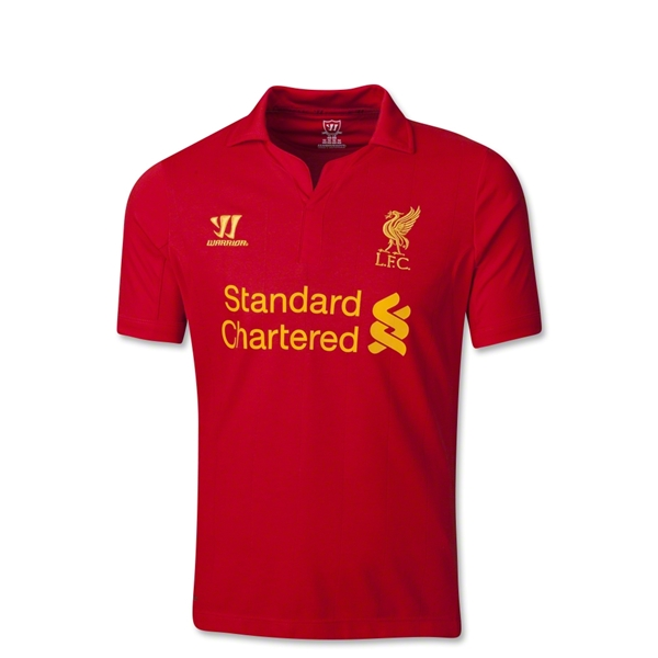 Liverpool 12/13 Youth Home Soccer Jersey