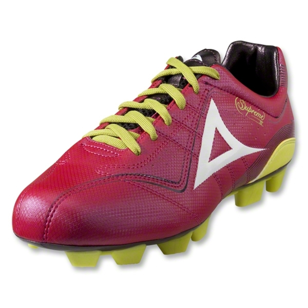 Pirma Supreme III Soccer Shoes (Magenta)
