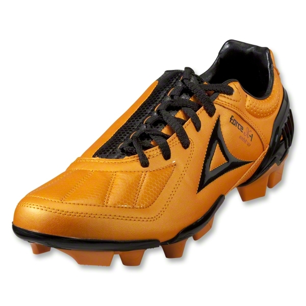 Pirma Force X-1 Elite FG Soccer Shoes (Orange/Black)