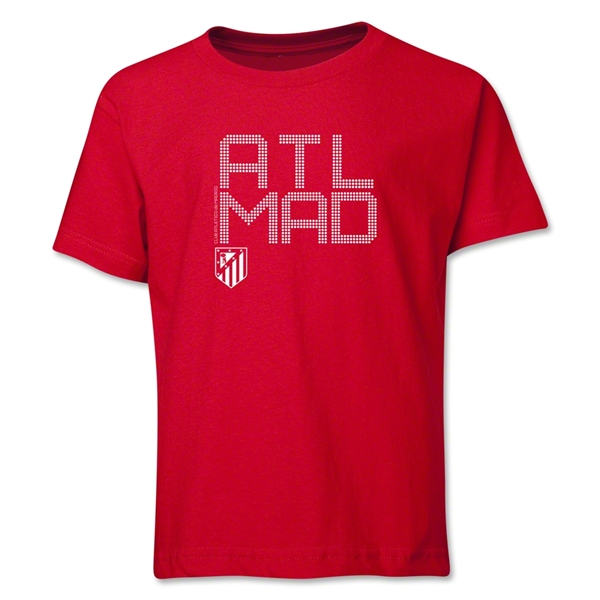 Atletico Madrid ATL MAD Youth T-Shirt (Red)