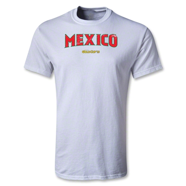 CONCACAF Gold Cup 2013 Youth Mexico T-Shirt (White)