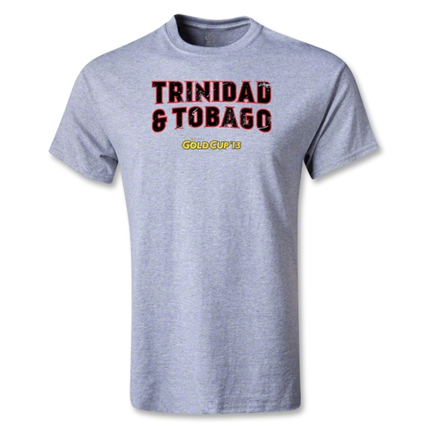CONCACAF Gold Cup 2013 Youth Trinidad and Tobago T-Shirt (Gray)