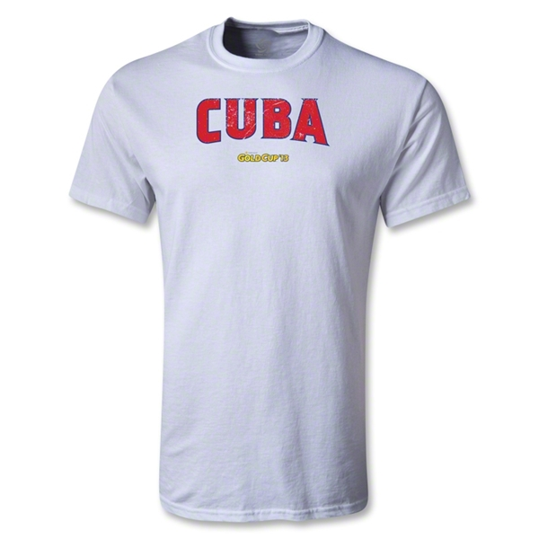 CONCACAF Gold Cup 2013 Youth Cuba T-Shirt (White)