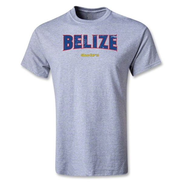 CONCACAF Gold Cup 2013 Youth Belize T-Shirt (Gray)