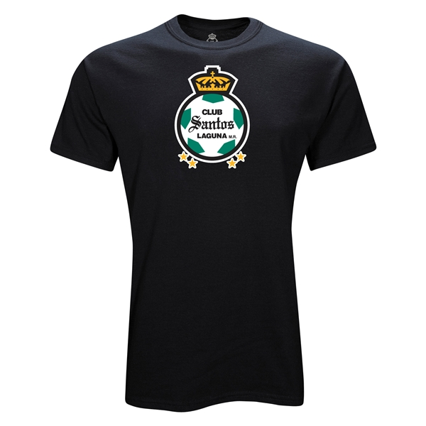 Santos Laguna Graphic Youth Soccer T-Shirt (Black)