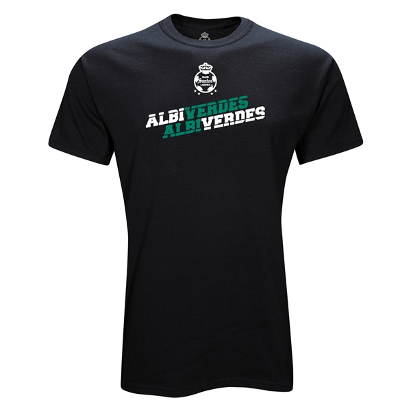 Santos Laguna Albi Verdes Youth T-Shirt (Black)