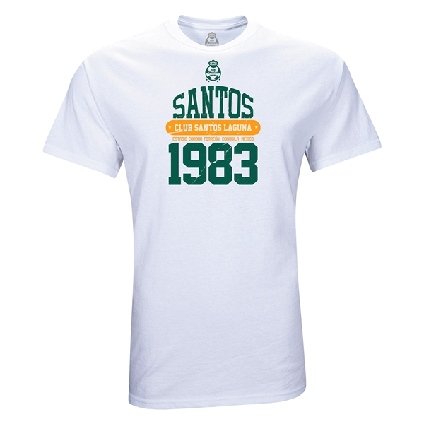 Santos Laguna 1983 Youth T-Shirt (White)