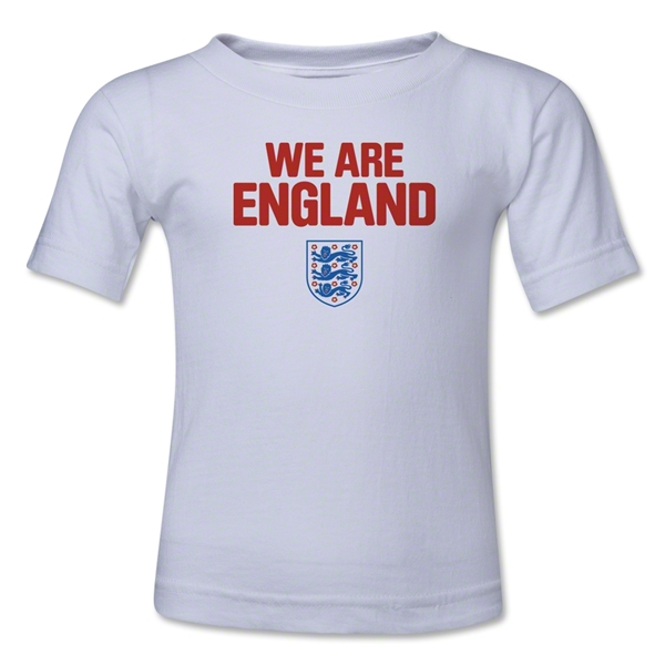 England We Are Youth T-Shirt (White)