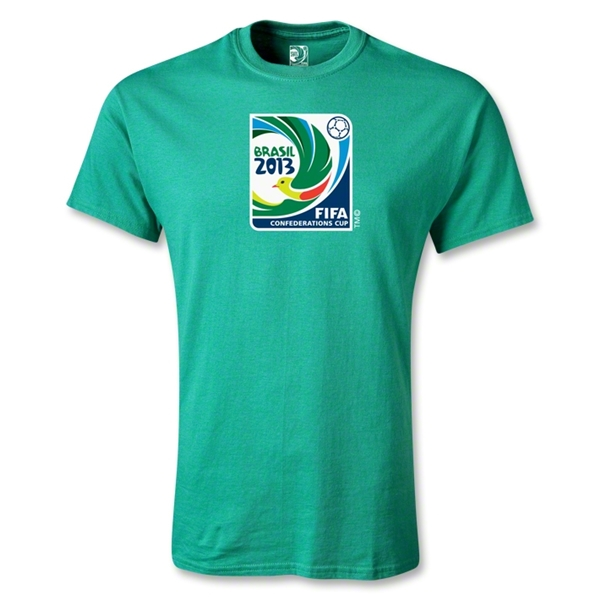 FIFA Confederations Cup 2013 Youth Emblem T-Shirt (Green)
