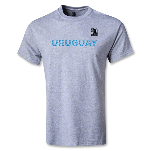 FIFA Confederations Cup 2013 Youth Uruguay T-Shirt (Gray)