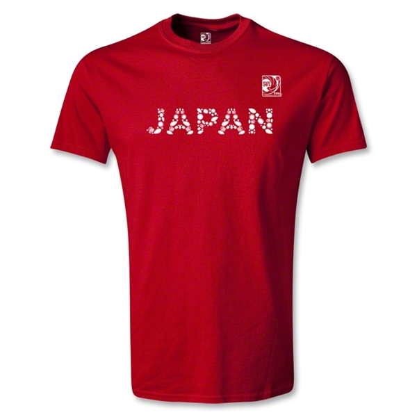 FIFA Confederations Cup 2013 Youth Japan T-Shirt (Red)