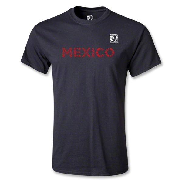 FIFA Confederations Cup 2013 Youth Mexico T-Shirt (Black)