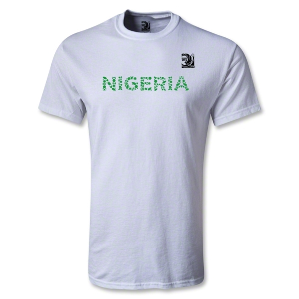 FIFA Confederations Cup 2013 Youth Nigeria T-Shirt (White)