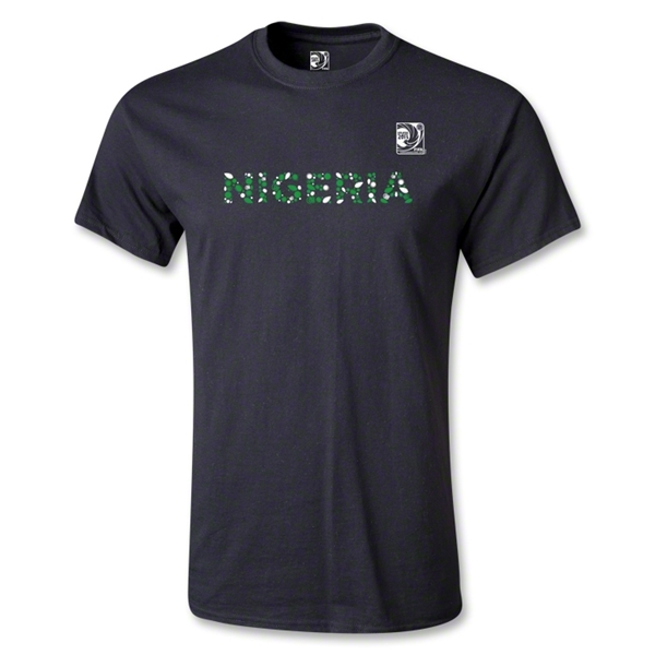 FIFA Confederations Cup 2013 Youth Nigeria T-Shirt (Black)