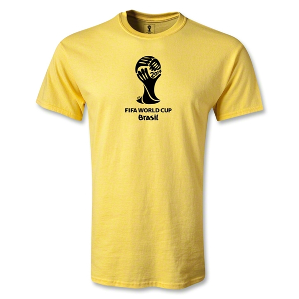 2014 FIFA World Cup Brazil(TM) Youth Emblem T-Shirt (Yellow)