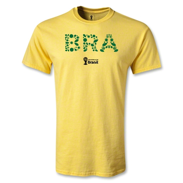 Brazil 2014 FIFA World Cup Brazil(TM) Youth Elements T-Shirt (Yellow)