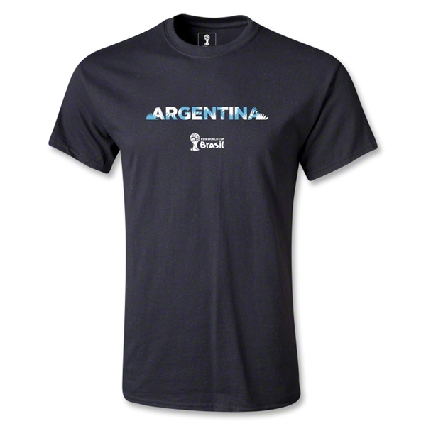 Argentina 2014 FIFA World Cup Brazil(TM) Youth Palm T-Shirt (Black)