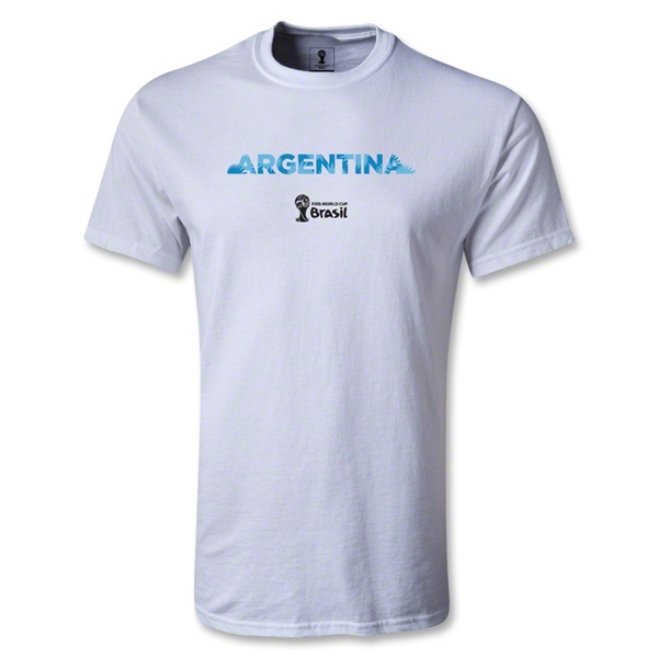 Argentina 2014 FIFA World Cup Brazil(TM) Youth Palm T-Shirt (White)