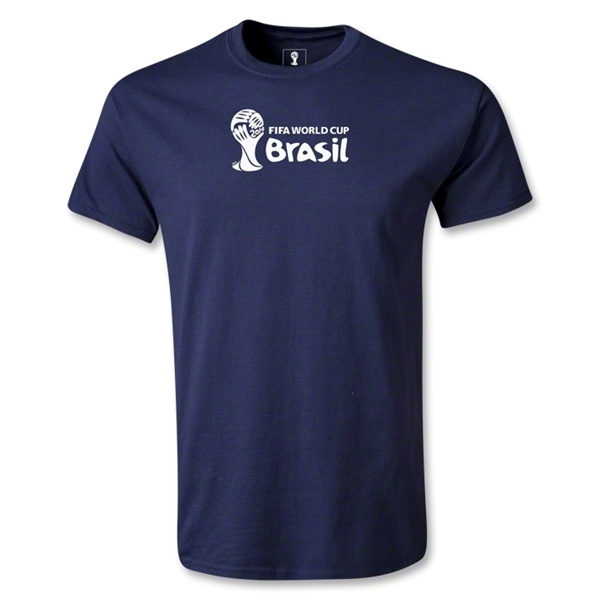 2014 FIFA World Cup Brazil(TM) Youth Landscape T-Shirt (Navy)
