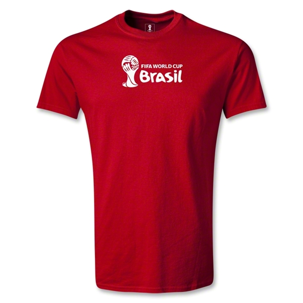 2014 FIFA World Cup Brazil(TM) Youth Landscape T-Shirt (Red)
