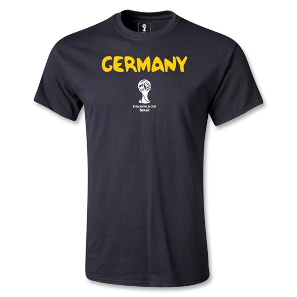 Germany 2014 FIFA World Cup Brazil(TM) Youth Core T-Shirt (Black)