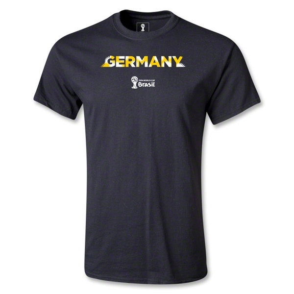 Germany 2014 FIFA World Cup Brazil(TM) Youth Palm T-Shirt (Black)