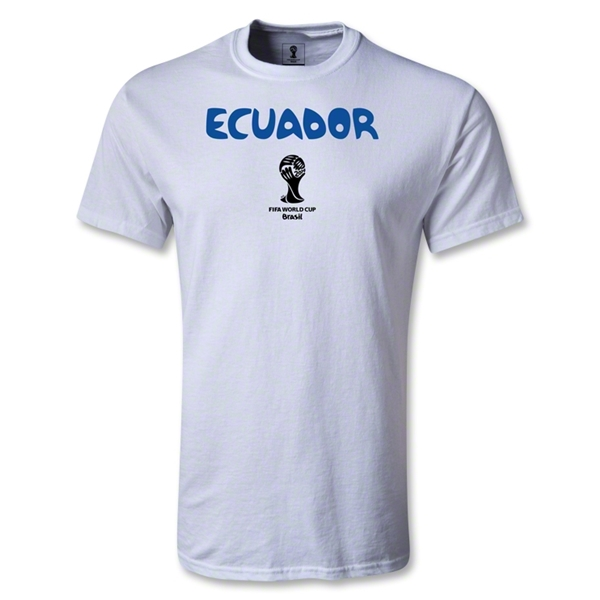 Ecuador 2014 FIFA World Cup Brazil(TM) Youth Core T-Shirt (White)