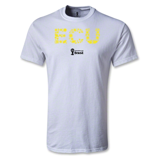 Ecuador 2014 FIFA World Cup Brazil(TM) Youth Elements T-Shirt (White)