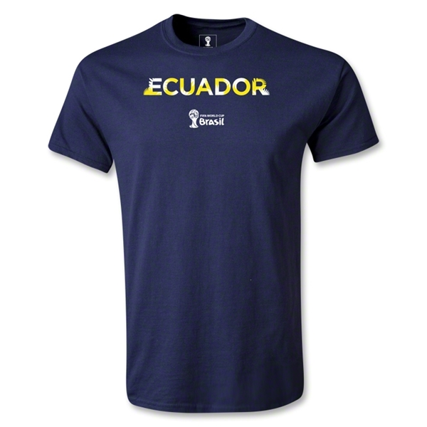 Ecuador 2014 FIFA World Cup Brazil(TM) Youth Palm T-Shirt (Navy)